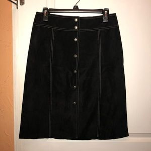 Vintage Theory Leather Skirt